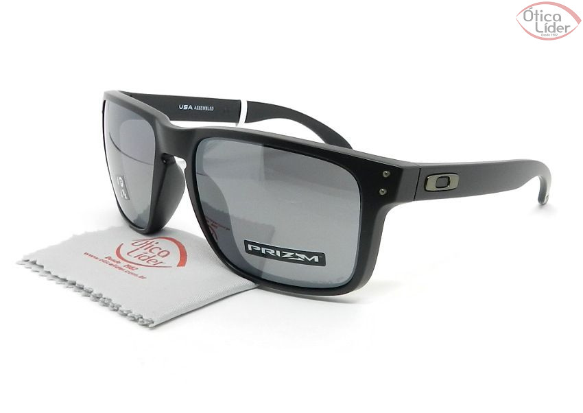 Oakley OO9417 0559 59 Holbrook XL Preto Semi-Espelhado Polarizado - 12x sem  juros ou 20% OFF na Ótica Líder e2269c3819