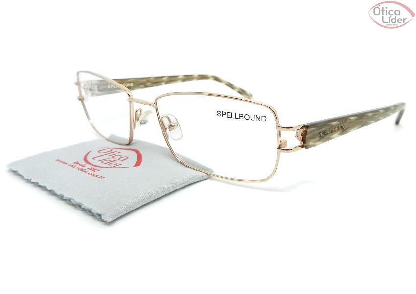 3184831a8 Spellbound SB8379 c3 54 Metal Dourado / Acetato Mesclado - 12x sem ...