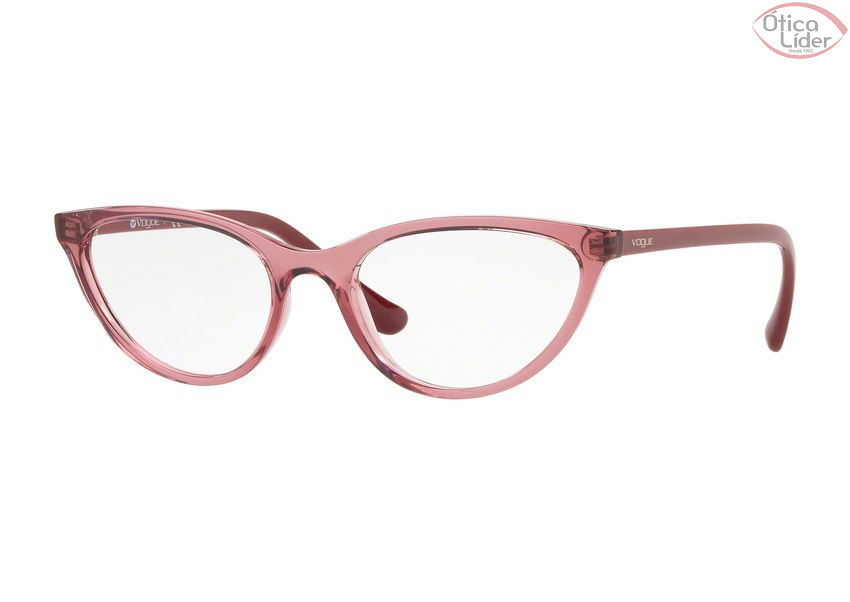 Vogue VO5213 2613 53 Acetato Rosa Transparente   Lilás - 12x sem ... f7566d24f1