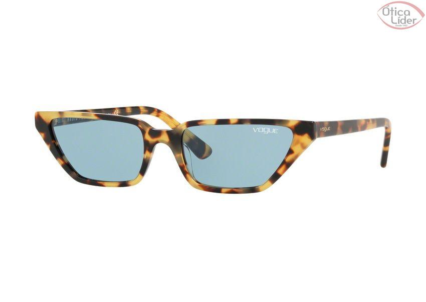 ecc84125f93af Vogue VO5235-s 2605 80 53 Gigi Hadid Acetato Tartaruga Lente Azul ...