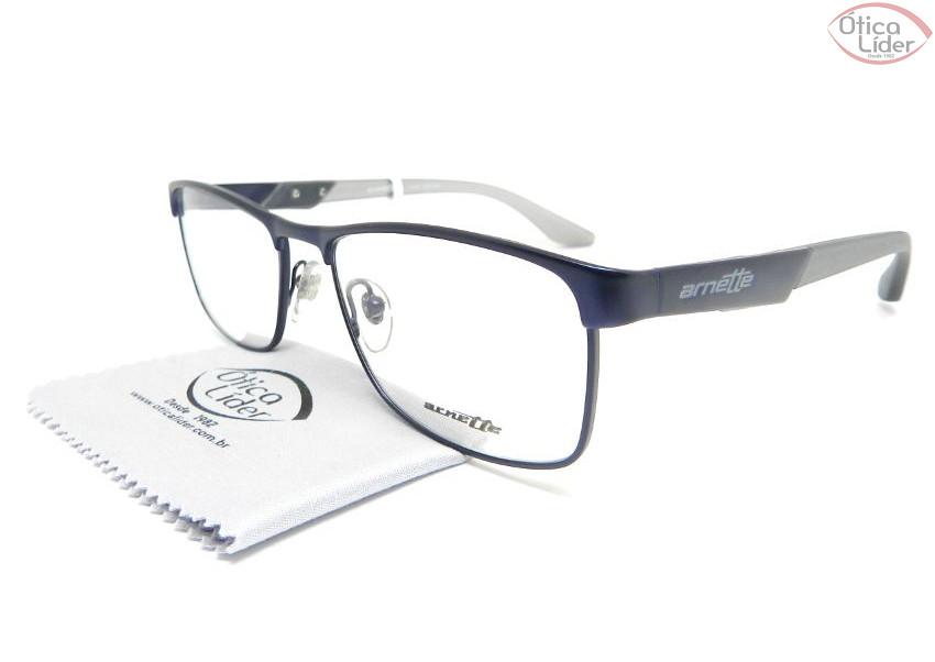 Arnette AN6111l 660 54 Metal Azul / Acetato Cinza