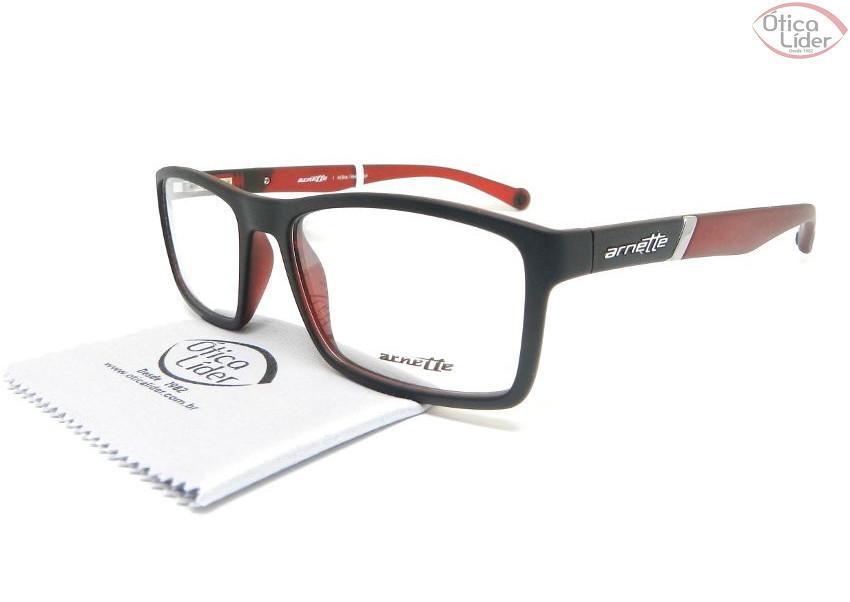 Arnette AN7088l 2299 53 Acetato Preto / Vermelho