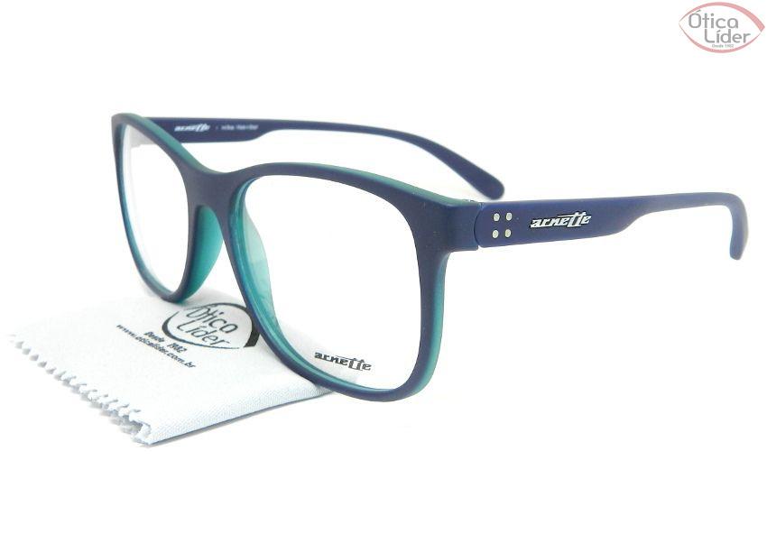 Arnette AN7144l 2517 56 Acetato Azul   Verde - 12x sem juros ou 20 ... 5593a169f2