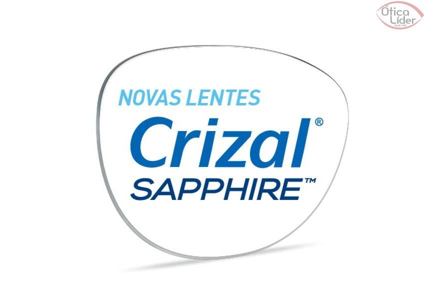 Lente de Grau Ultra Fina Crizal Sapphire Stylis 1.74 (par)