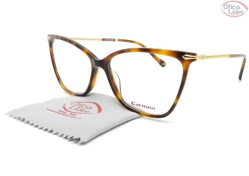 Carmim CRM41455 C2 56 Acetato Havana / Metal Dourado
