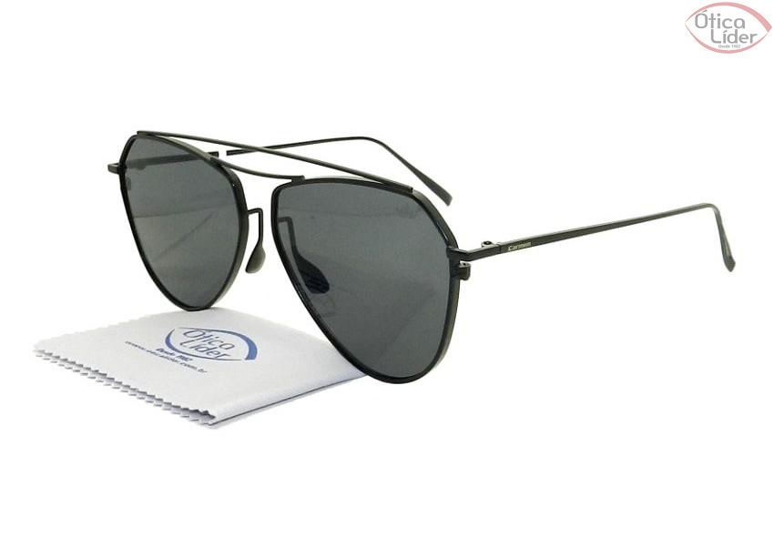 e4667683eb566 Óculos Carmim CRM42171 c1 58 Metal Preto - 12x sem juros ou 20% OFF ...