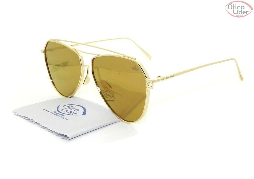 bf585ccc09ecc Carmim CRM 42171 c5 55 Metal Dourado Espelhado - 12x sem juros ou 20 ...