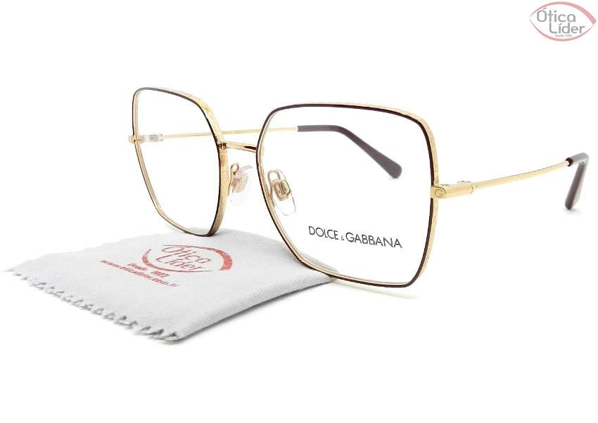Dolce & Gabbana DG1323 1333 54 Metal Dourado / Bordô