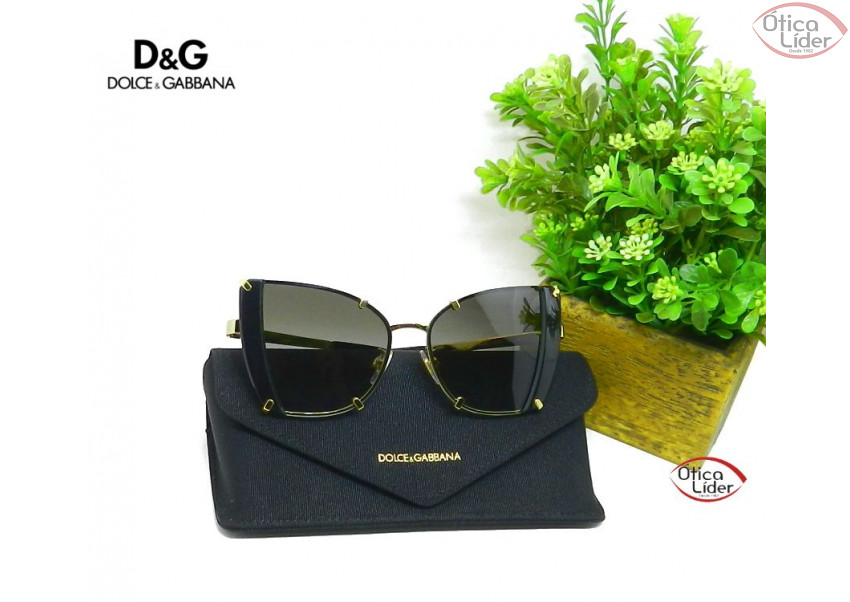 Dolce   Gabbana DG2214 02 8g 53 Metal Dourado   Preto - 12x sem ... 146a6fb6f0