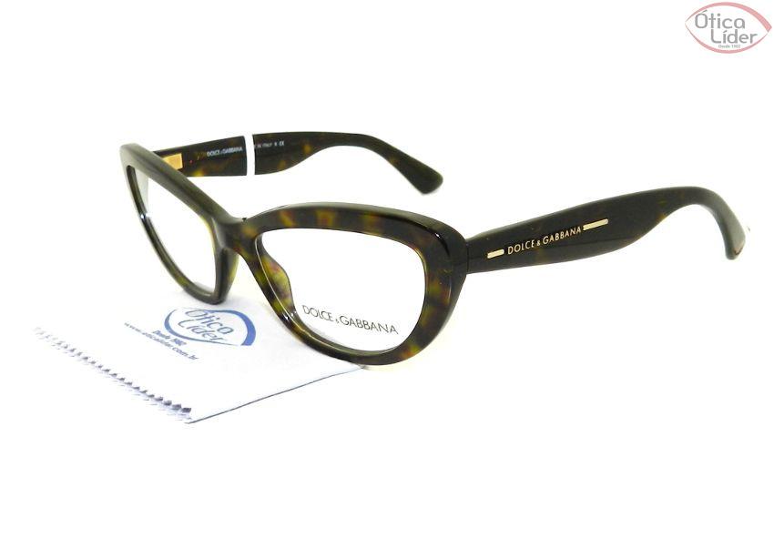 8ebb8f38c318b Dolce   Gabbana DG 3127 502 53 Acetato Verde Mesclado - 12x sem ...