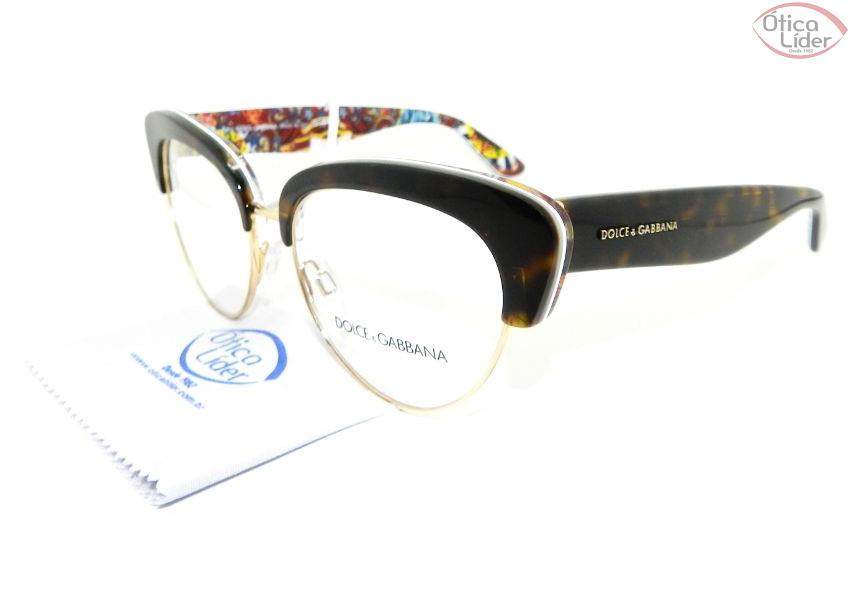 Dolce   Gabbana DG 3247 3037 53 Acetato Demi Sicilian Carreto - 12x ... 590788c1a9