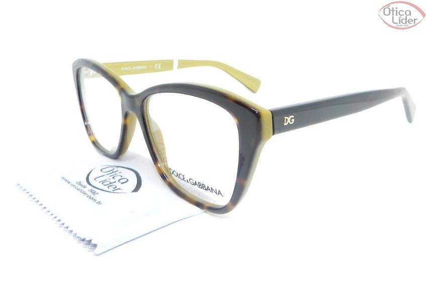 DOLCE   GABBANA   Óculos de Grau - 12x sem juros ou 20% OFF na Ótica ... 3b53dd2c1f