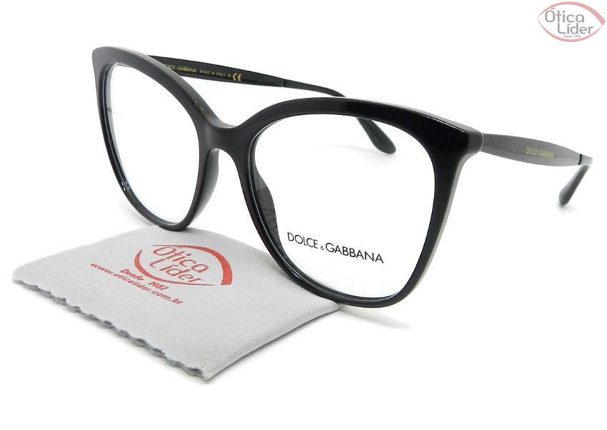 Dolce & Gabbana DG3278 501 54 Acetato/Metal Preto