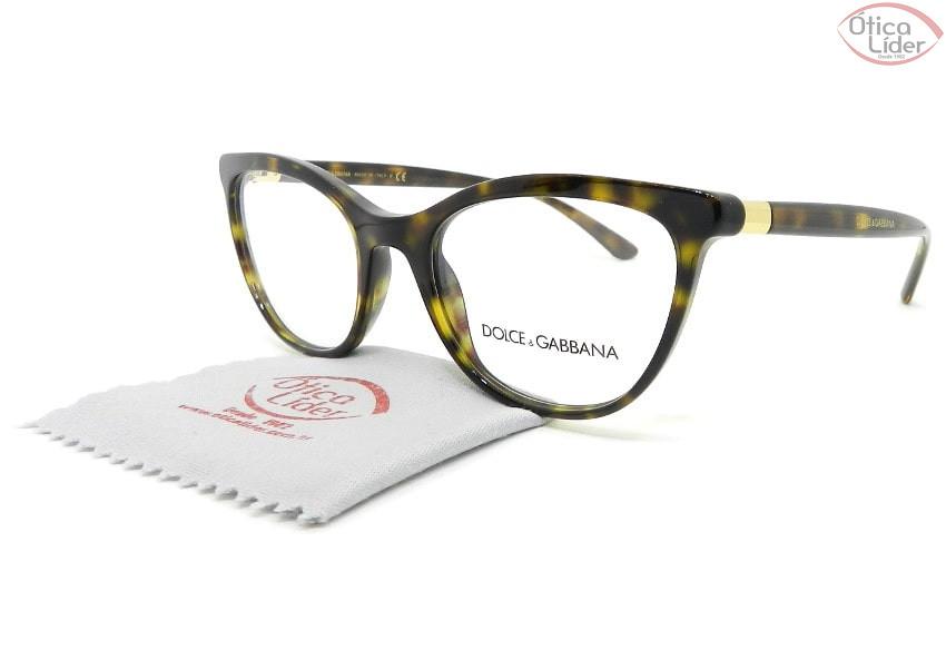 Dolce & Gabbana DG3324 502 52 Acetato Havana