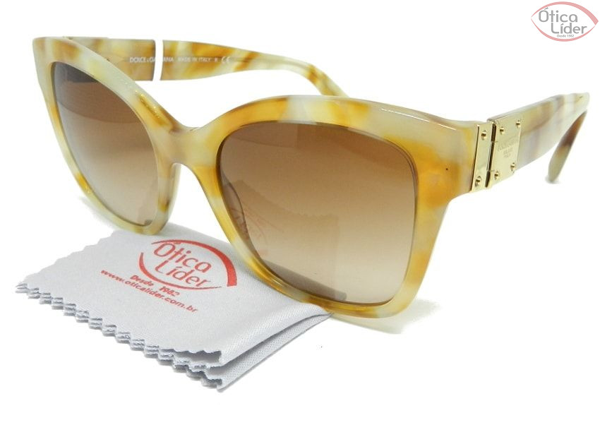 Dolce & Gabbana DG4309 31213 53 Acetato Bege Mesclado
