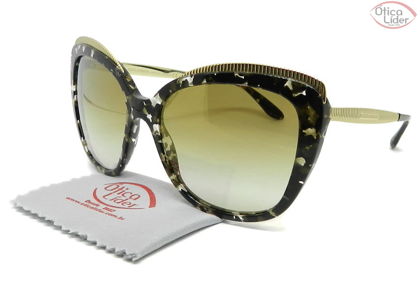 Dolce & Gabbana DG4332 911/6e 57 Acetato Mesclado / Metal Dourado