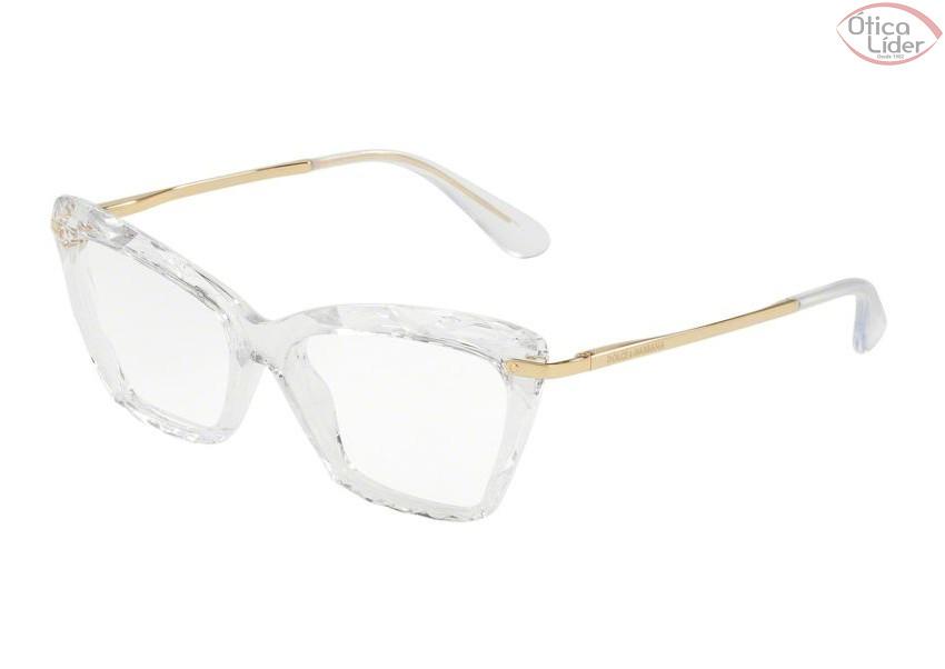 03e44b726ed93 Dolce   Gabbana DG5025 3133 53 Acetato Cristal   Metal Dourado - 12x ...