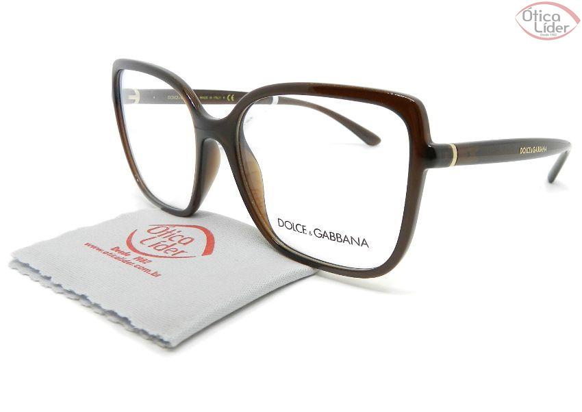 Dolce & Gabbana DG5028 3159 53 Acetato Marrom Transparente