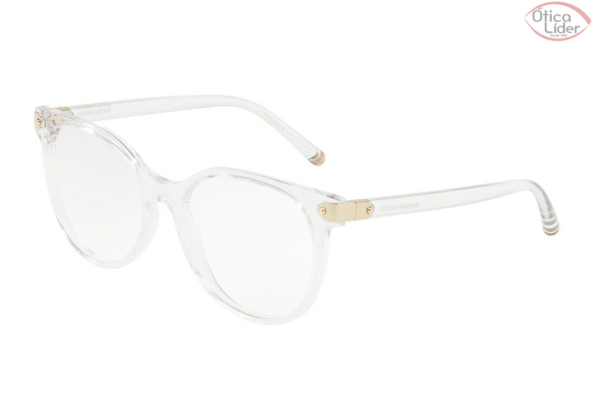 36aa1c9692e45 Dolce   Gabbana DG5032 3133 53 Acetato Cristal   Dourado - 12x sem ...