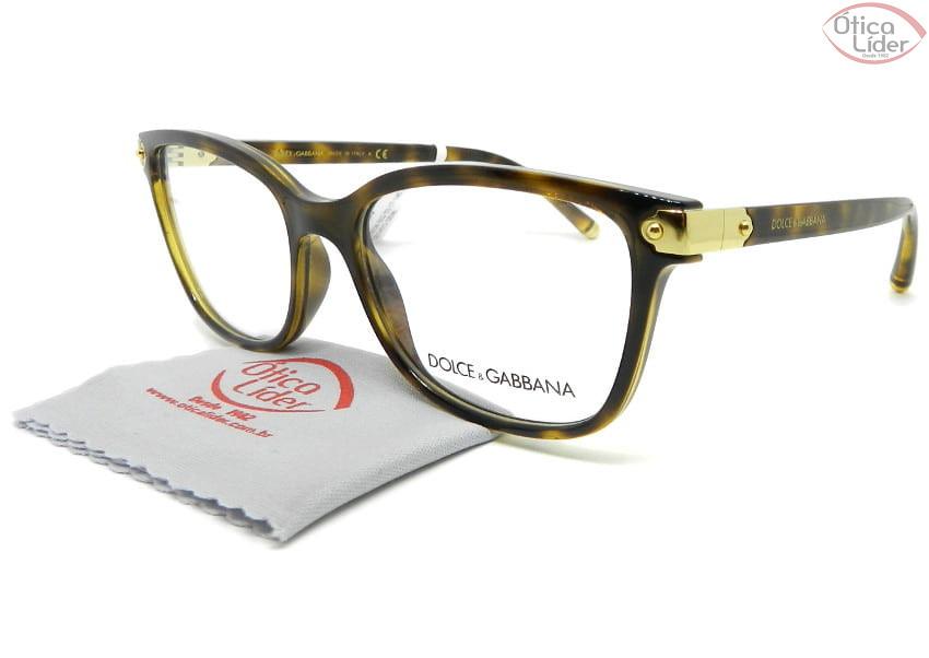 Dolce & Gabbana DG5036 502 53 Acetato Havana / Dourado