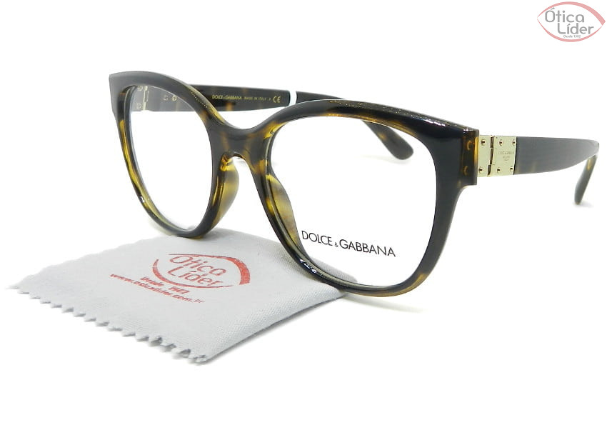 Dolce & Gabbana DG5040 502 52 Acetato Havana