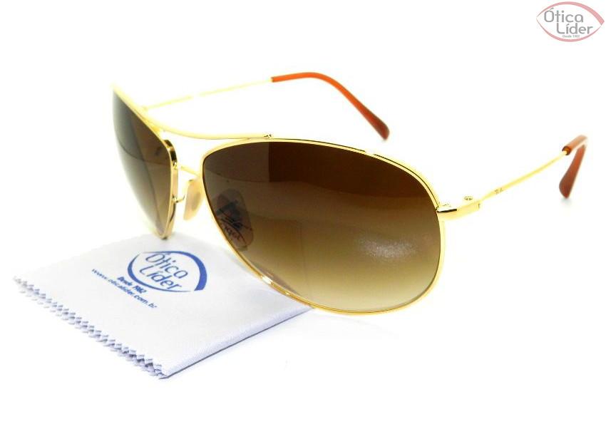 83adf27ef6a28 Ray-Ban RB 3454 001 13 65 Metal Dourado - 12x sem juros ou 20% OFF ...