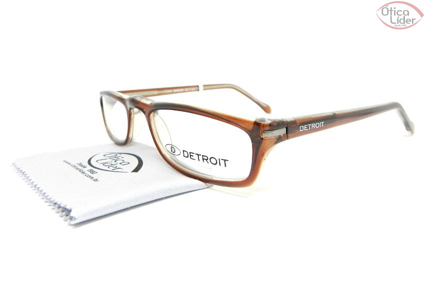 Detroit DT Fenix Marrom 48 Acetato Marrom Transparente - 12x sem ... 13e85fb16c