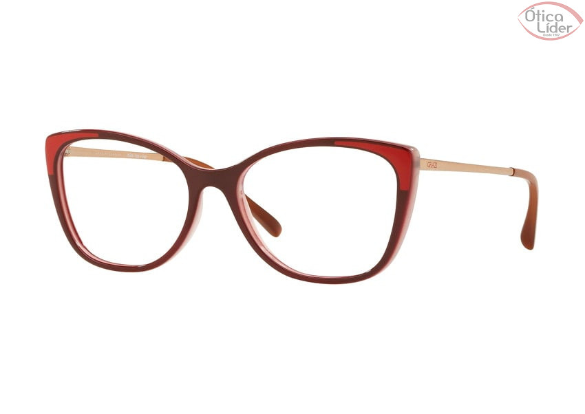 Grazi Massafera GZ3055 f918 53 Acetato Bordô / Cobre