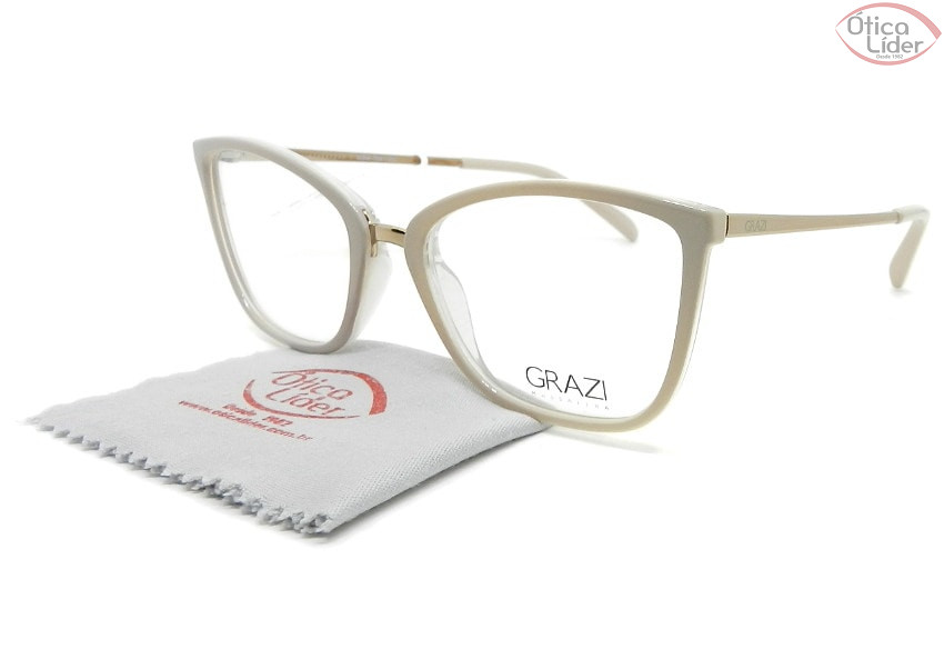 Grazi Massafera GZ3065 g688 52 Acetato Rosado / Haste Metal