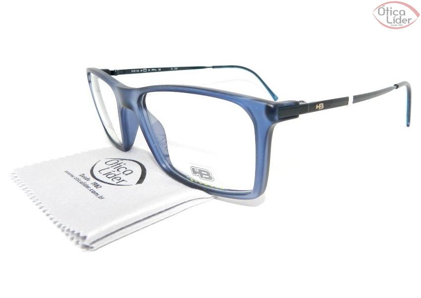 b2ec7ab89 HB m.93 124 737 52 Polytech Azul Transparente / Metal - 12x sem ...