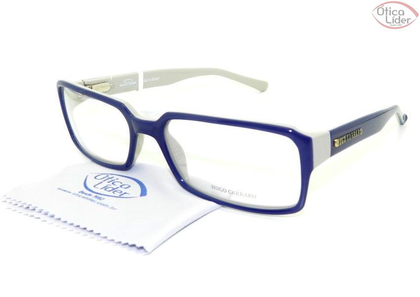 Hugo Carraro HCR425 004 56 Acetato Azul / Cinza