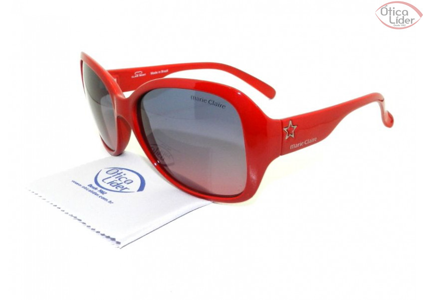 95c35530697b2 Marie Claire MCS 2703 003 60 Acetato Vermelho - 12x sem juros ou 20 ...