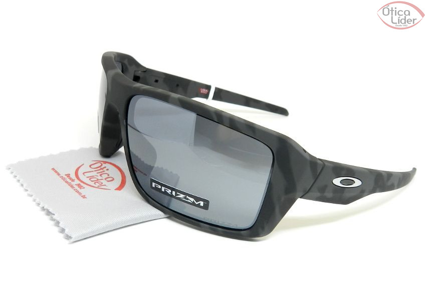 Oakley OO9380 20 66 Double Edge Acetato Preto Mesclado