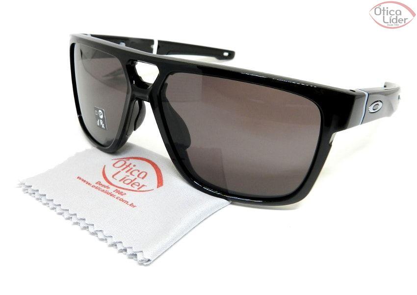 Oakley OO9382 01 60 Crossrange Patch Acetato Preto