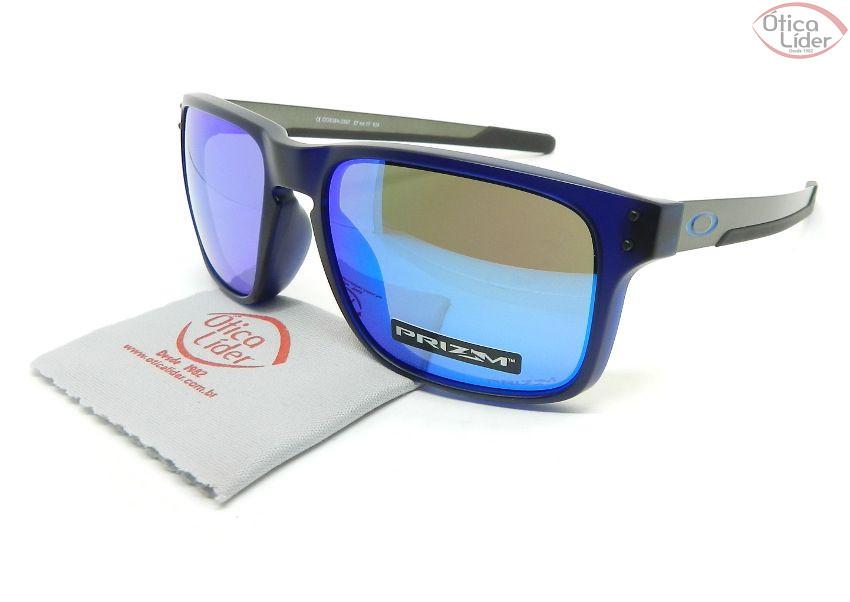 Oakley OO9384 0357 57 Holbrook Mix Espelhado Acetato Azul