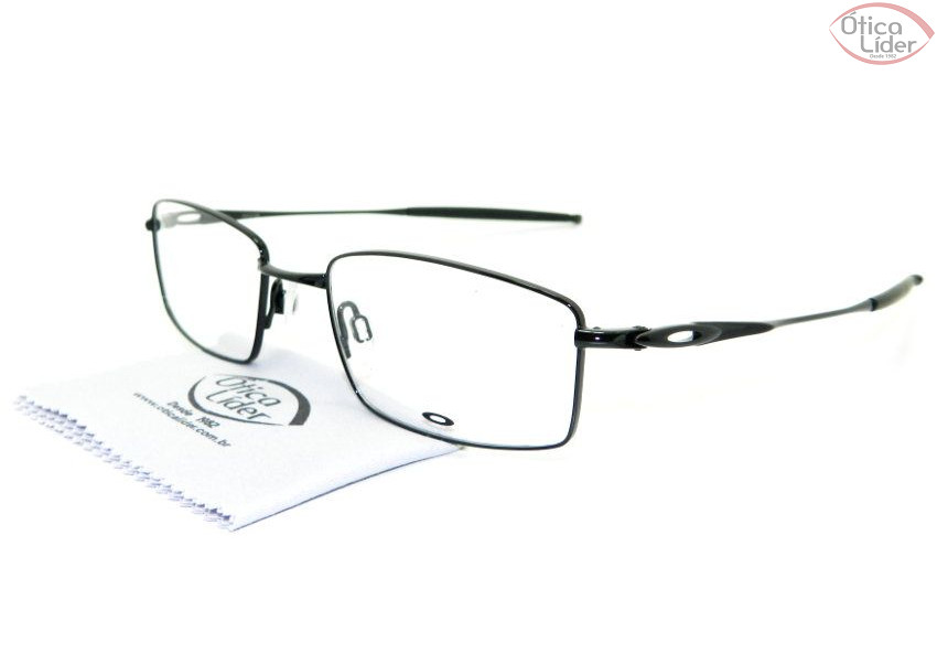 e58c611ffd4 Oakley OX3136 0253 53 Polished Metal Preto - 12x sem juros ou 20 ...