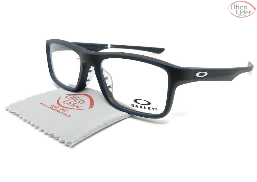 Oakley OX8081 0951 51 Plank 2.0 Acetato Preto / Azul