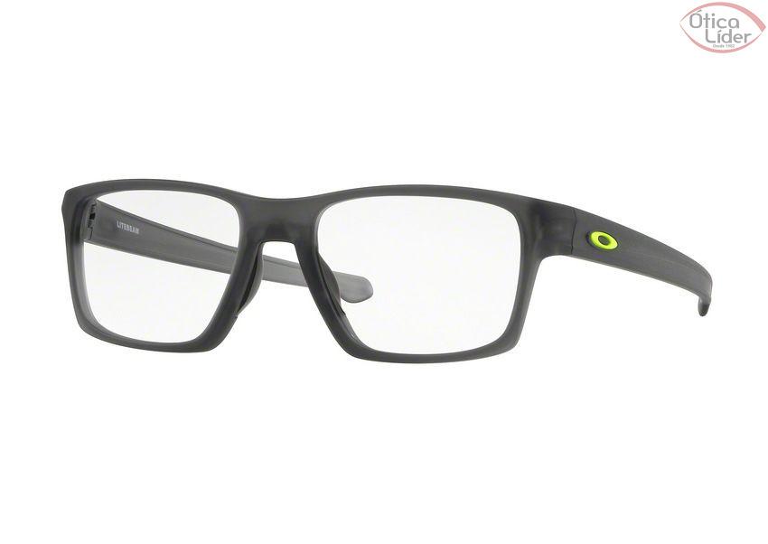 Oakley OX8140 0255 55 Litebeam Acetato Cinza Transparente