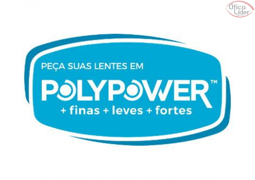 LENTE EYEZEN Fina com Grau Airwear Polypower 1.56/1.59 Transitions Básica (par)