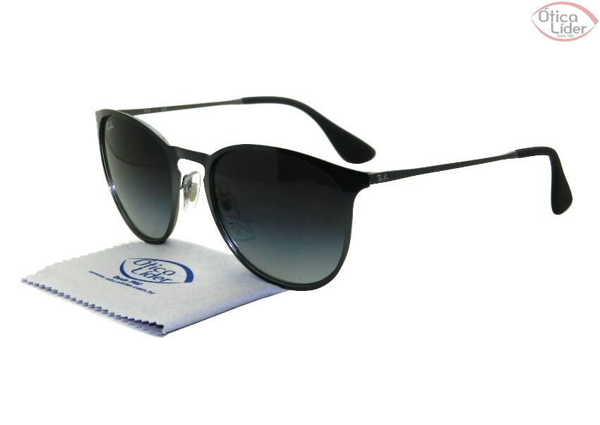 Ray-Ban RB 3539 192/8g 54 Erika Metal Grafite