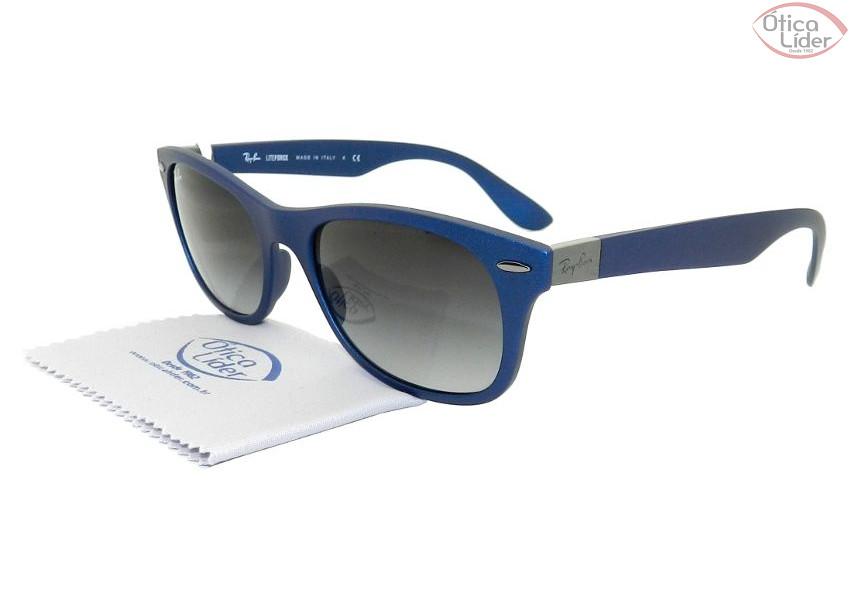 Ray-Ban RB4207 6015/8g 52 Wayfarer Acetato Azul