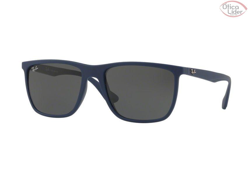 Ray-Ban RB 4288l 6210 87 57 Acetato Azul Marinho - 12x sem juros ou ... f6f2467209