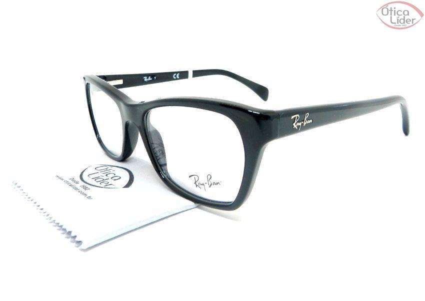 Ray-Ban RX5298 2000 53 Acetato Preto