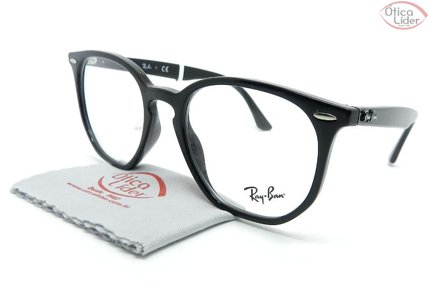 Óculos de Grau Ray-Ban RX7151 52 Hexagonal Acetato - Várias Cores