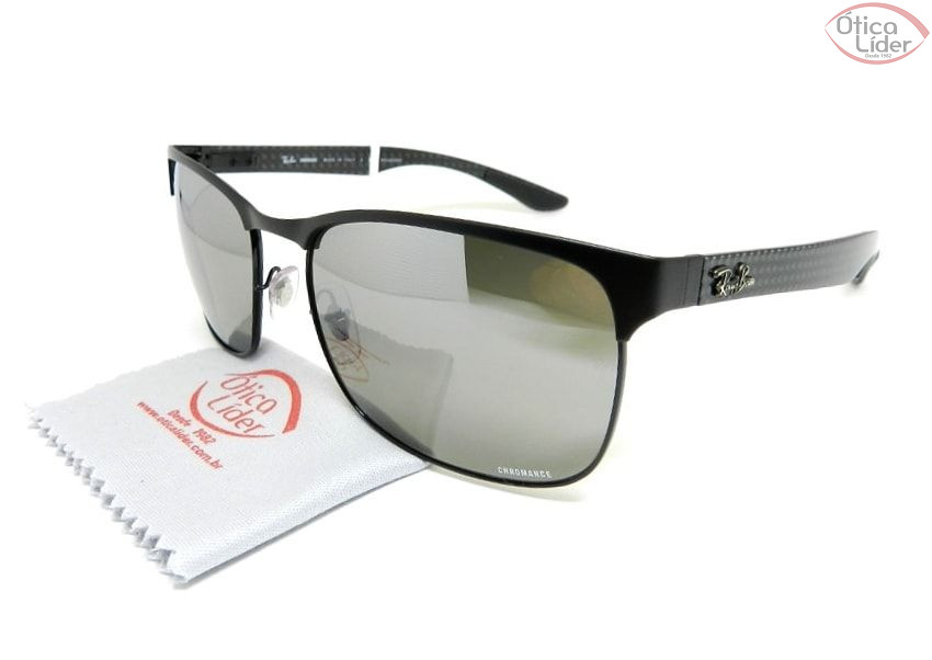 RAY-BAN CHROMANCE RB8319ch 186/5j 60 Metal/Fibra de Carbono 3p