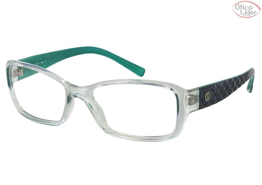 9cd5dafc1b24d Secret SE m80028 51 Acetato Transparente   Verde - 12x sem juros e ...