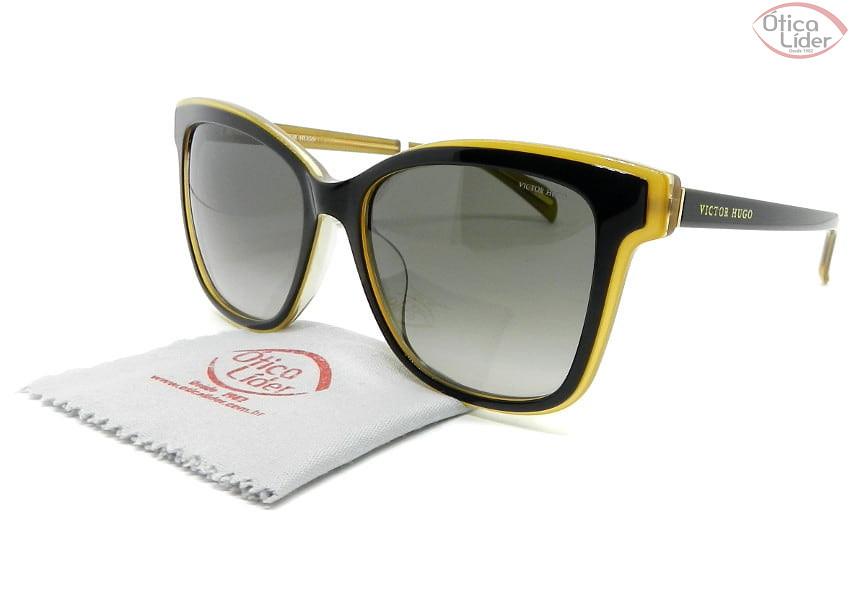 Victor Hugo SH1790 col.0c13 54 Acetato Preto / Dourado