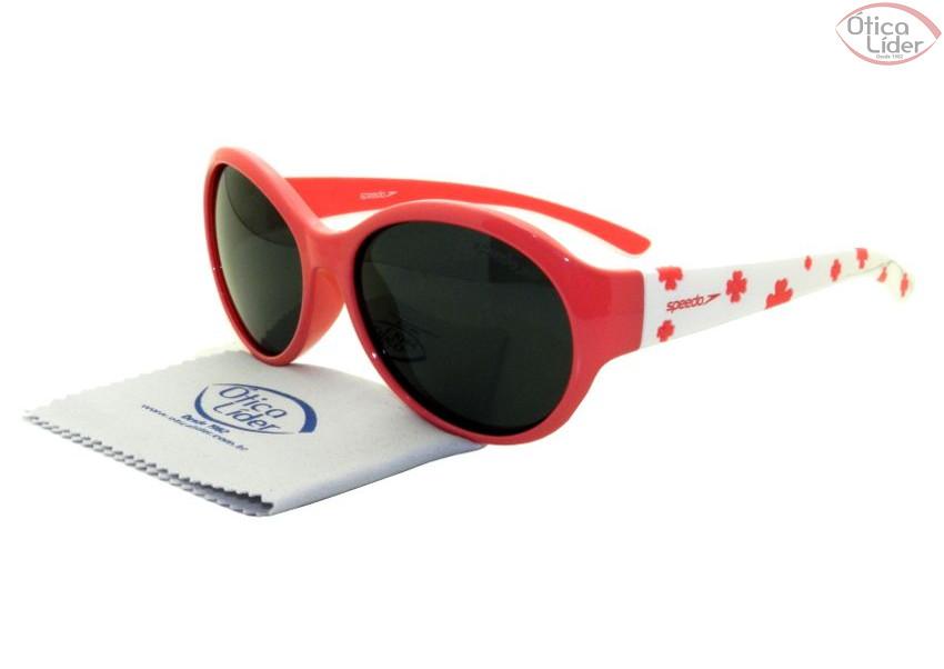 710dad99e Speedo SP Grab c02 50 Infantil Acetato Rosa / Branco - 12x sem juros ...