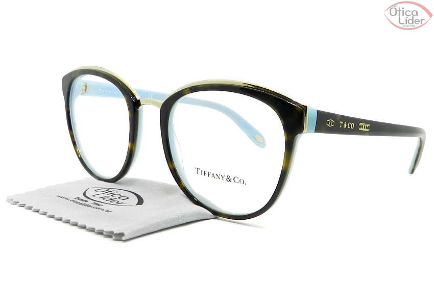 Tiffany & Co. TF2162 8134 53 Acetato Havana / Azul