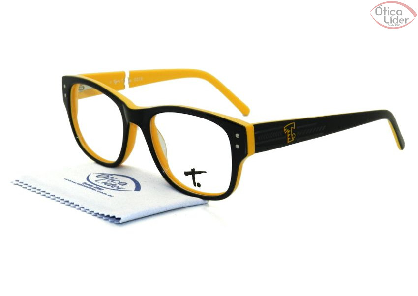 35135a8e0 Tigor T. Tigre TT 047 c1 46 Infantil Acetato Preto / Amarelo - 12x ...